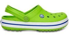 Sandali e scarpe Ciabatte Crocs verde per il mare da uomo