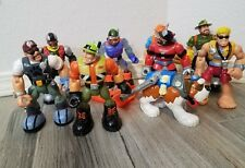 """HUGE LOT Rescue Heroes 6"""" Action Figures Lot of 9  MATTEL Fireman Dog Ranger"""