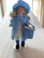 Paradise Galleries Porcelain Doll Treasure Collection Thursday's Child w/c.o.a.