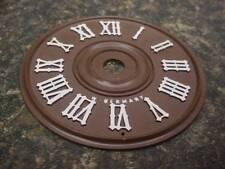 """Plastic Cuckoo Coo Coo Clock Center 2 3/4"""" Dial Face Clock Parts or Repair E202E"""