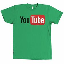 Youtube Bella + Canvas Logo T Shirt Internet Video MANY COLORS - NEW WITH TAGS