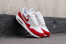 NIKE AIR MAX 1 ULTRA 2.0 LE WHITE/UNIVERSITY RED UK size 7 EUR 41
