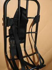 Universal carrier Front  Vario-Rack KLICKfix with belt strap black