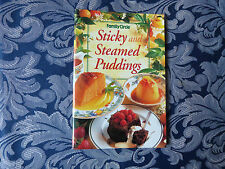 STICKY & STEAMED PUDDINGS COOKBOOK-Family Circle Mini-Cookbook- ISBN 0864115512