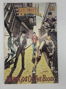 Comics Magazine  NKOTB June 1990 New Kids On The Block First Printing