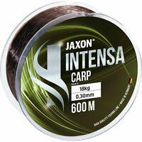 300/600m JAXON INTENSA CARP, KARPFENSCHNUR ANGELSCHNUR MONOFILE SCHNUR SINKEND