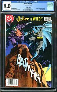 🔑 BATMAN #366 95¢ VARIANT JOKER COVER! CGC 9.0 VF/NM 12/1983 CANADIAN NEWSSTAND
