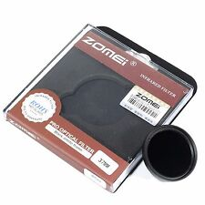 Zomei 37mm 850nm Infrared IR Filter Infra Red X Ray W/O Adapter Fr Gopro Hero