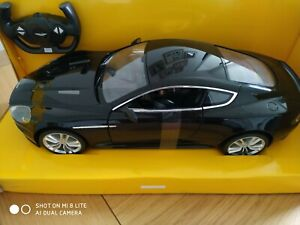 Aston Martin DBS coupe remote control car 1/10 scale - BLACK detailed model