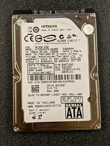 "Hitachi TravelStar 5K320-25 HTS543225L9A300 250GB 2.5"" SATAII Laptop Hard Drive"