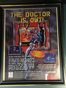 Vintage Capcom Mega Man 7 Super Nintendo Video Game Add