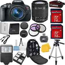 Canon Rebel T5i Camera Bundle Kit with 18-55mm IS STM+Full Size Tripod+32GB+XTRA