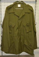 New combat shirt green canadian old style size 5 medium ( bte#78 )