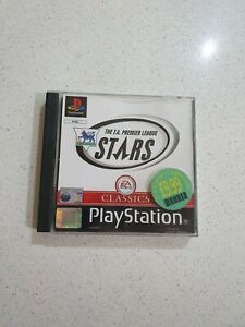 The F.A. premier league stars complete PS1 Sony PlayStation⭐OZ SELLER GET FAST
