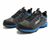 Inov8 Mens Roclite 350 Trail Running Shoes Trainers Sneakers - Black Blue Sports