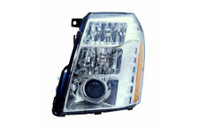 Replacement Depo 332-11B3L-ASH Driver Side Headlight For 07-09 Cadillac Escalade