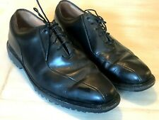 FootJoy Icon Black Leather Lace Tie Spikeless Golf Shoes Men's Size 8