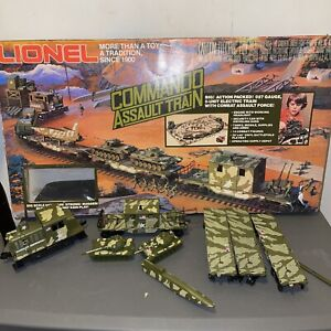 Lionel #6-1355 Commando Assault Military RARE 1983 O-27 Gauge Train Set