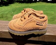 WEEBOK By REEBOK Saddle Oxford Wing Tip Leather Dress Toddler Boys Shoes Sz 5.5