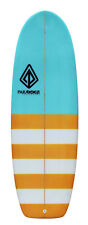 5'4 Mini Simmons Surfboard - Creamsicle/PU - Paragon Surfboards