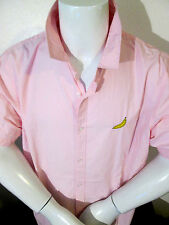 BLACK LABEL-FOREVER21 FOR MEN-COOL PINK RETRO 50'S BANANA SHIRT