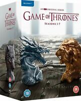 GAME OF THRONES The Complete Series Seasons 1-7 Blu Ray Box Set New Fast Shippin