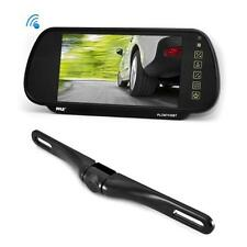 "NEW Pyle PLCM7400BT 7"" BLUETOOTH Rear-View Mirror Monitor + Night Vision Camera"