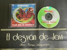 718-SURVIVAL  AUSTRALIAN ROCK RECOPILATION  CD 1992    DISCO VG    COVER G