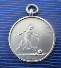 Vintage Silver Football Medal / Fob - William Hair Haseler c.1920s  not engraved