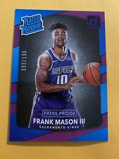 2017 Donruss Purple 092/199 Basketball FRANK MASON III RATED ROOKIE