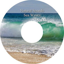 Natural Sounds Sea Waves CD Relaxation Stress Relief Sleep Aid Healing Calm