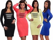Square Neck Party Mini Regular Size Dresses for Women