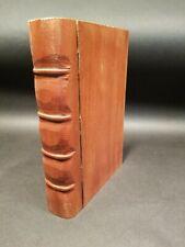Antique Vintage Style Wood Faux Book Secret Box