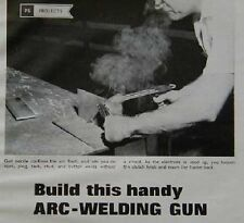 Arc-Spot Welding Gun HowTo build PLANS No Hood Welding