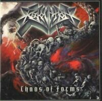 REVOCATION chaos of forms (CD, album) technical death metal, thrash metal, 2011,