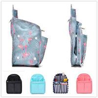 Waterproof Backpack Insert Organizer Bag Gadget Multi-Pocket Handbag Organizer