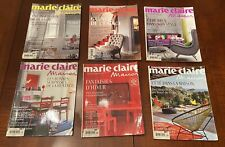 Lot 6 Marie Claire Maison French Magazines
