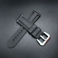 22mm Silicone Rubber Watch Band For Panerai Strap Watchband Diver SOFT NEW