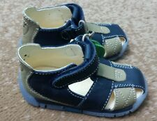 NATURINO baby boys shoes orthopedic EU 20 US 4 leather navy blue New
