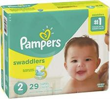 Pampers Swaddlers Soft and Absorbent Diapers Size 2 - 29 ct NEW