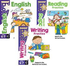 KEY STAGE 1 ENGLISH AGE 6-7 - 3 BOOKS - ENGLISH, READING & WRITING
