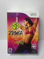 Zumba Fitness (Nintendo Wii, 2010) Join the Party - Fitness Belt Included NEW