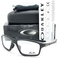 NEW Oakley Crosslink Zero RX glasses Frame Black OX8080-0758 Asian FT link 8080