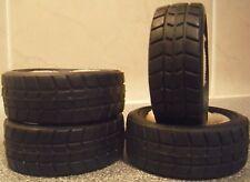 4 X 21mm estrecho Rally pisada neumáticos W/inserts 1/10 trickbits tb4220 Sobre Carretera
