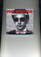 PHIL SPECTOR - THE ANTHOLOGY - CRYSTALS GENE PITNEY RUTH BROWN - 3 CDS - NEW!!