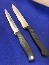 Kershaw Kitchen Cutlery#9921 & 9025 Slicing Knife + Utility Knife JAPAN..