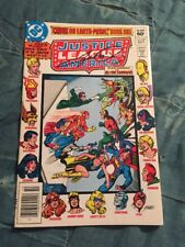 Justice League of America #207 Classic Cover Signed By George Perez [DC, 1982]