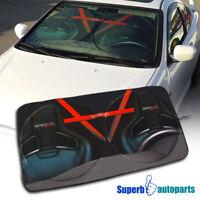"""51"""" x 27.5"""" Windshield Auto Car Sun Shade Sunshine Blocker"""