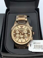 Emporio Armani AR2452 Herren Uhr Chronograph Rose Gold NEU OVP 100% ORIGINAL