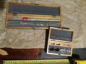 Set  vintage germany Optical Glass Cuvette 10mm 50mm, spectrometer glass cells